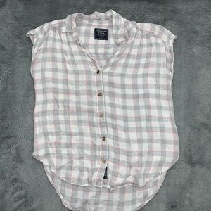 Abercrombie & Fitch - short sleeve flannel